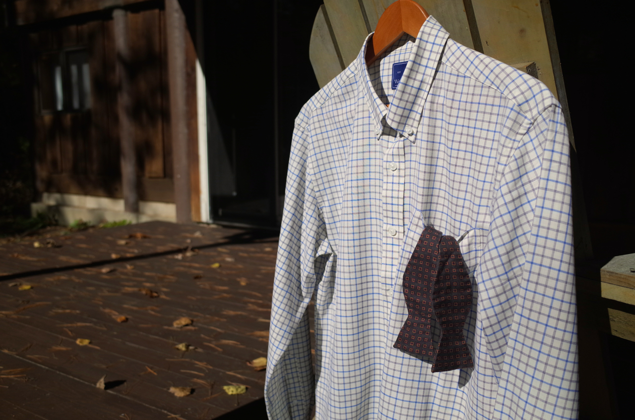 Gear Review Wool Princes Better Button Down Max The Cyclist